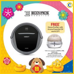 [Courts] We're spreading the wealth this New Year 😉With every purchase of an ECOVACS Deebot Robotic Vacuum Cleaner, receive a
