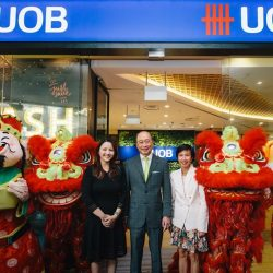 [UOB Bank] We are pleased to announce the opening of our latest branch at Tampines One.