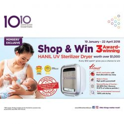 [10 10 Mother & Child Essentials] From TODAY until 22 April, we're offering a HUGE member's exclusive!