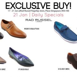 [Rad Russel] EXCLUSIVE line-up of daily star buys from 17 - 21 Jan!