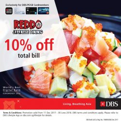 [Reddo Sushi] We are bringing you more value this 2018.