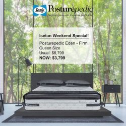 [Sealy Singapore] Get the best sleep with a Sealy Posturepedic.