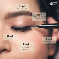 [COSMETICS & PERFUMES BY SHILLA] Get these 5 simple steps to keep your eyeliner from smudging 👇1.