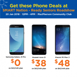 [M1] Enjoy free $30 NTUC voucher when you sign up or re-contract on any mobile plan with Senior Benefits, and