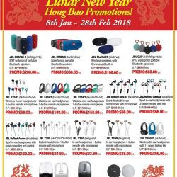 [Newstead Technologies] Sound up your home and gadgets for the Lunar New Year with latest JBL Harman Kardon audio, now with offer