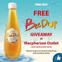[Yummi House] 1 DAY UNLIMITED BeeDrop (370ml) supply for FREE!