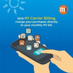 [M1] Stand a chance to win $50 off your M1 bill today!