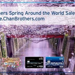 [Citibank ATM] Spring into the new year with 1-for-1 deals,  50% off 2nd pax and more at Chan Brothers Spring