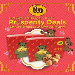 [TCC - The Connoisseur Concerto] tcc's beary cute Prosperous Bear Pineapple Tarts are back!