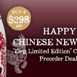 [Wine Connection] Enjoy huge savings when you pre-order our Ernest Rapeneau Champagne Bundle Deals for your upcoming Chinese New Year celebrations!