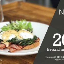 [Erwin's Gastrobar] At ERWIN'S Gastrobar, we believe in starting your day right with a hearty breakfast.