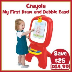 "[Babies'R'Us] Get your Crayola with Toys""R""Us today!"