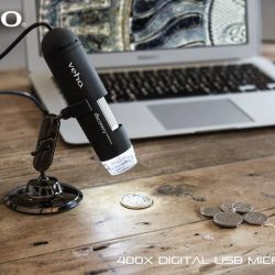 [Veho] The Veho VMS-004D USB microscope has a powerful 400x digital zoom and is perfect for all sorts of applications