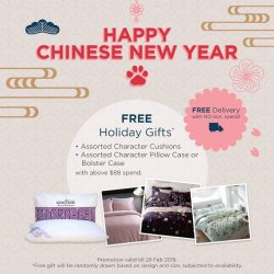 [King Koil Singapore] Chinese New Year is around the corner and there's no better time to redecorate and spruce up your homes