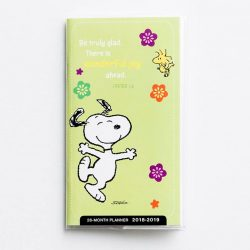 [Precious Thots] LIMITED STOCKS LEFTPeanuts - Wonderful Joy 2018 28-Month PlannerFeaturing the Peanuts character, Snoopy, along with an encouraging Scripture