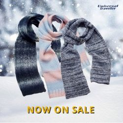 [Universal Traveller] Scarfs are the perfect spring accessory - wrap it around your neck when it's chilly, or style it as a