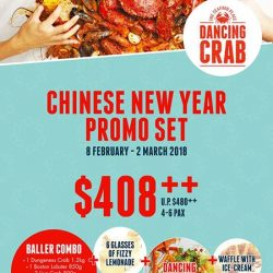 [Dancing Crab] Celebrate Chinese New Year, Dancing Crab style!