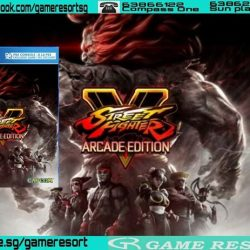 [GAME RESORT] PS4 Street Fighter V Arcade Edition,Current players of Street Fighter Vand future owners of Street Fighter V: Arcade Edition