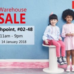 [PONEY enfants] Poney Warehouse SALE at NorthPoint (Yishun MRT Station) 02-48 from 1 until 14 January 2018.