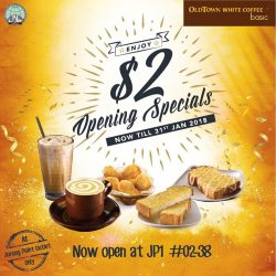 [OLDTOWN White Coffee Singapore] New beginnings just got cooler than ever before!