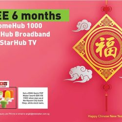 [StarHub Telestation] To better serving you, we open a new shop @ Northpoint City!