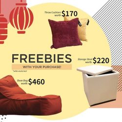 [Cellini] Spruce up your home this chinese new year with these freebies!