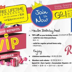 [JAPAN HOME Singapore] Join us now as VIP member & enjoy special privilege just for you!