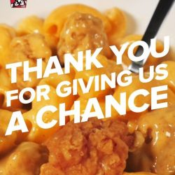 [KFC Singapore] Here at KFC, we'd like to take a moment to thank all of you for your support for the