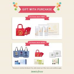 [Innisfree Singapore] Have you visited our new Northpoint City store (01-156/157) yet?
