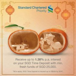[Standard Chartered Bank] Looking for TD rates for your savings to usher in good fortune this Year of the Dog?