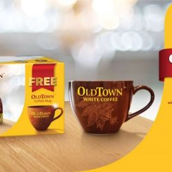 [OLDTOWN White Coffee Singapore] Your favourite rich, creamy White Coffee is best enjoyed in a mug that's equally beautiful.