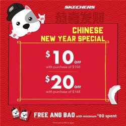 [Changi City Point] Unveil the new year with eye-catching kicks and earn more savings up to $20 rebate.