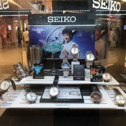 [City Chain Primo] Pop by Seiko Singapore 's roadshow at VivoCity Central Court, level one, from now till 7 January 2018 and take