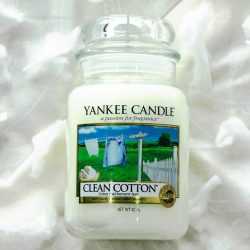 [Yankee Candle] LAST CHANCE to get your hands on Clean Cotton, Turquoise Sky, Cherry Blossom, and Red Raspberry at 25% off usual