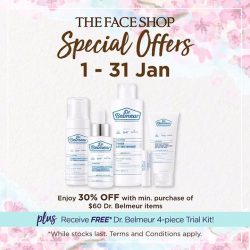 [THE FACE SHOP Singapore] Let's welcome the new year with Prosperity and Beauty!