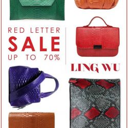 [Ling Wu] Join us this weekend at the RED LETTER SALE.