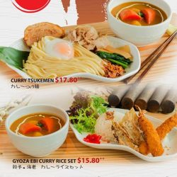 [Ramen Champion Singapore] Celebrate 2018 with our new Curry Tsukemen at Ramen Champion Clarke Quay Central outlet!