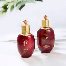 [The History of WHOO] Recharge your skin with extracts of the precious Red Ginseng.