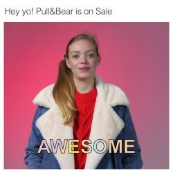 [Pull&Bear] Your face when you realize that Pull&Bear is on sale 😄 pullandbearsale with @violetthrelfall