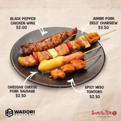 [Shokutsu 10] Variety really plays a huge factor when it comes to Yakitori!