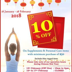 [VitaKids] Drop by the Doctor's Best Store @ Novena Square to shop their Chinese New Year Sale!
