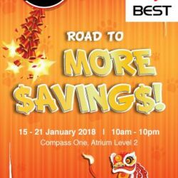 [Compass One] The Denki Show is here again at Compass One with more savings offers for our shoppers!