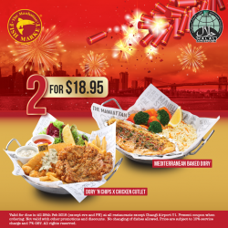 [The Manhattan FISH MARKET Singapore] This lunar new year, swim by with a friend and catch up over a good meal at The Manhattan FISH