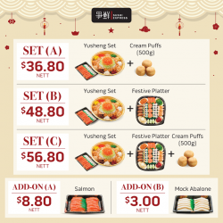 [Sushi Express Singapore] CNY is around the corner.