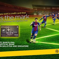 [Maybank ATM] Introducing a first-class card in partnership with a world-class club.