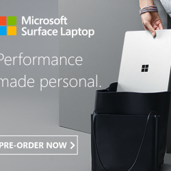 [Newstead Technologies] Microsoft Surface Laptop is designed for Windows 10S - that streamlined for security and superior performance.