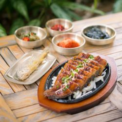 [Millenia Walk] Start the new year with fresh Korea imported unagi at SBCD Korean Tofu House!