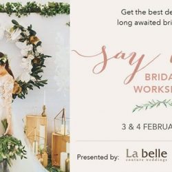 [LA BELLE] Calling out to brides of 2018 and 2019!