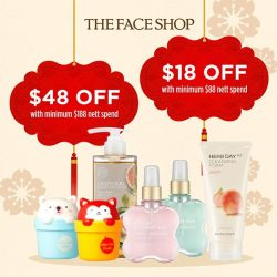 [THE FACE SHOP Singapore] Sniff out these PAW-mazing deals in our stores from 12 – 31 Jan!