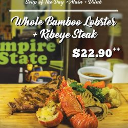 [Empire State] We have just introduced two new combo sets to offer our customers a wider choice of food.